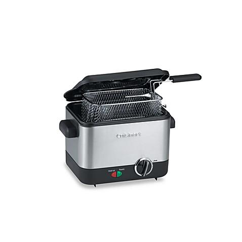 image of cuisinart mini deep fryer