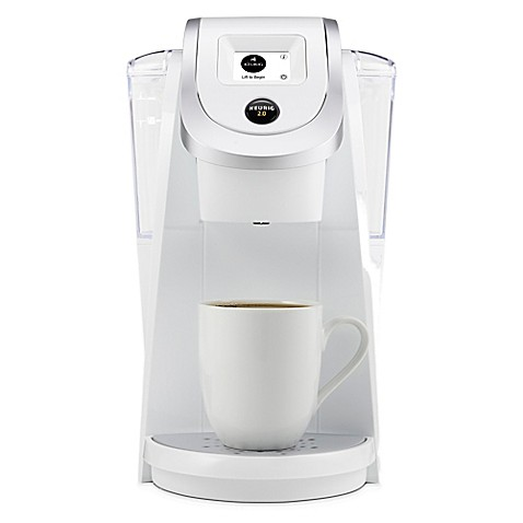 Bed Bath Beyond Keurig    Coffee Brewer White