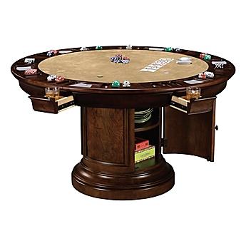Image Of Howard Miller Ithaca Game Table In Hampton Cherry