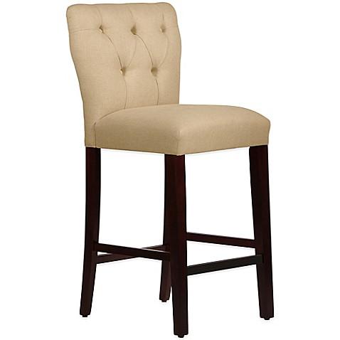 Buy Skyline Furniture Violeta Tufted Hourglass Bar Stool