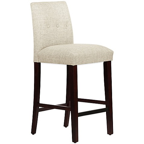 Buy Skyline Furniture Ariana Tapered Barstool With Buttons
