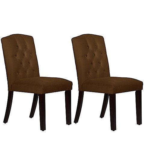 Buy Skyline Furniture Denise Tufted Arched Dining Chairs