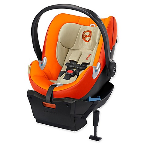 cybex platinum aton q infant car seat in autumn gold bed bath beyond. Black Bedroom Furniture Sets. Home Design Ideas