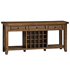 image of Hillsdale Tuscan Retreat® Sideboard with 20-Bottle Wine Storage