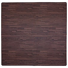 image of Tadpoles™ by Sleeping Partners 4-Piece Wood Print Play Mat in Cherry