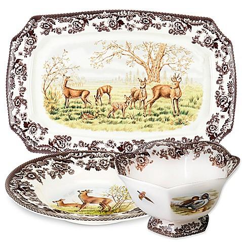 Spode\u0026reg; Woodland Deer Dinnerware  sc 1 st  Bed Bath \u0026 Beyond & Spode® Woodland Deer Dinnerware - Bed Bath \u0026 Beyond