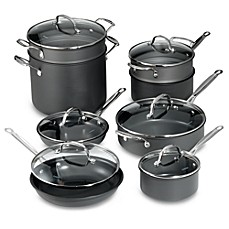 image of Cuisinart® Chef's Classic™ Nonstick Hard Anodized 14-Piece Cookware Set
