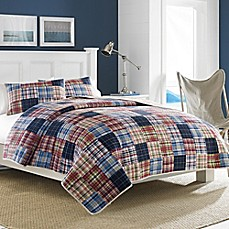 image of Nautica® Blaine Quilt in Red