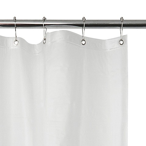 Frosted EVA Vinyl Shower Curtain Liner - Bed Bath & Beyond