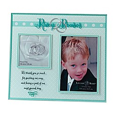 image of Lillian Rose™ Ring Bearer 2-Opening Picture Frame
