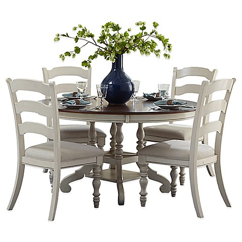 Buy Hillsdale Pine Island 5 Piece Oval Dining Set With