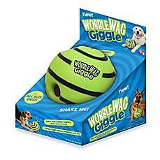 image of Wobble Wag Giggle™ Ball Dog Toy