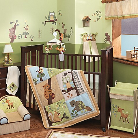 Lambs Ivyreg Enchanted Forest 5 Piece Crib
