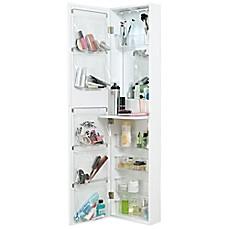 Bon Door Solutions™ Over The Door Mirror And Cosmetic Organizer