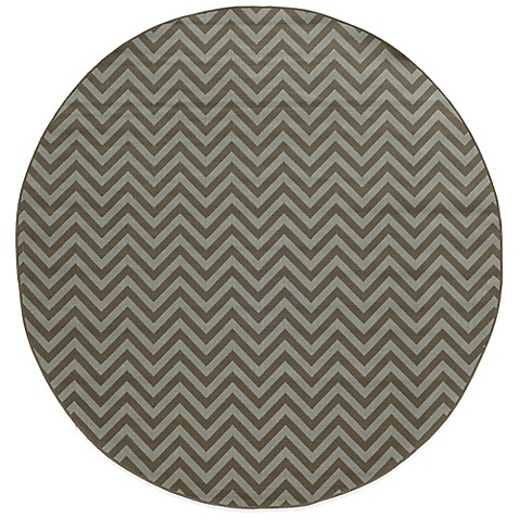 Buy Oriental Weavers Riviera Chevron 7 Foot 10 Inch Round