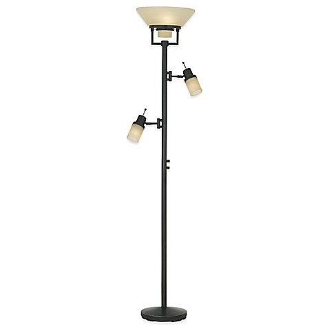 Pacific coastr lighting techno chic torchiere floor lamp for Pacific coast floor lamp georgetown torchiere