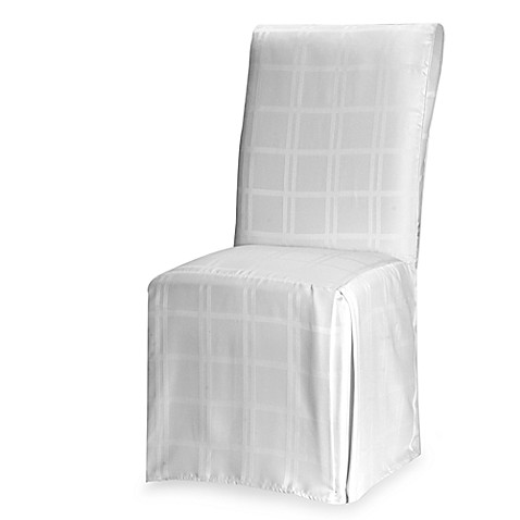 image of origins microfiber dining room chair cover
