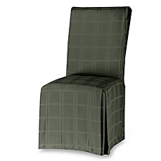 Image Of OriginsTM Microfiber Dining Room Chair Cover In Peridot