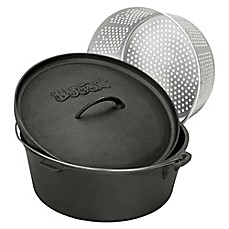 image of Bayou Classic® Cast Iron Dutch Oven with Lid