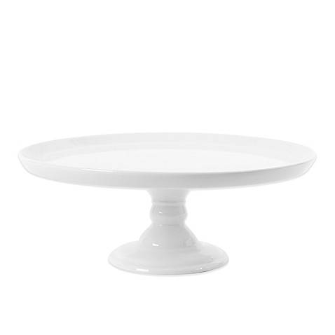 Everyday White®  by Fitz and Floyd® Medium Footed Cake Server