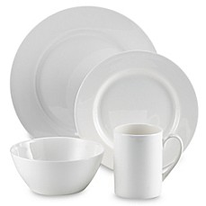 image of Tabletops Unlimited® Cascade Bone China 16-Piece Dinnerware Set