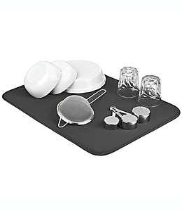The Original™ Tapete doble XL para secar platos en gris