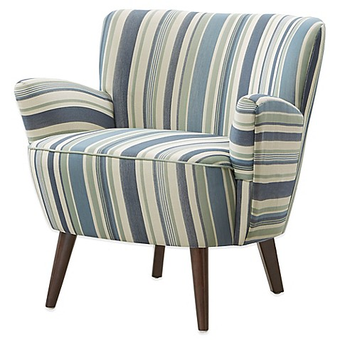 Madison Park Multi Stripe Sophie Chair Bed Bath Amp Beyond