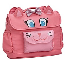 image of Bixbee Animal Pack Kitty Kids Backpack in Pink