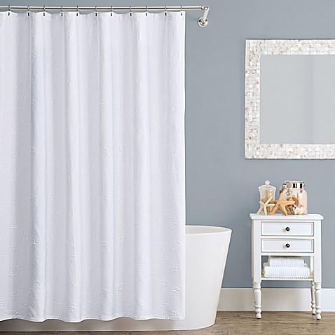 Lamont Home Seaspray Cotton Shower Curtain Bed Bath
