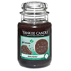 image of Yankee Candle® Girl Scout Cookies® Thin Mints® Large Jar Candle