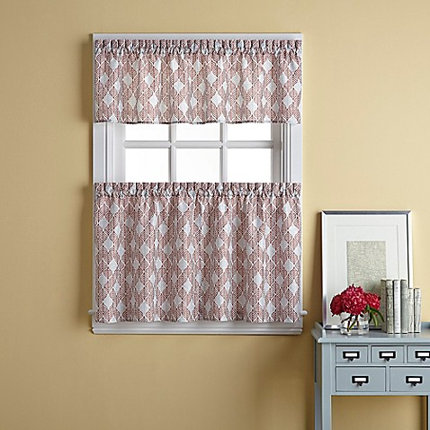 Palmer Window Curtain Tier Pair Bed Bath Beyond