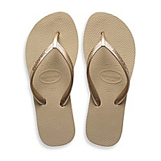 image of Havaianas® High Light Women's Sandal in Sand Grey