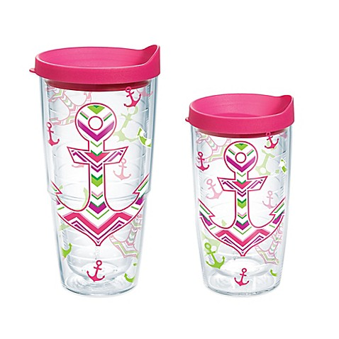Tervis 174 Anchors Away Wrap Tumbler With Lid Bed Bath Amp Beyond