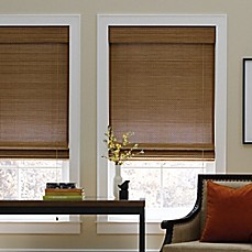 bedroom shades. image of Real Simple  Natural Roman 72 Inch Length Shade Blinds Shades Wood Cellular more Bed Bath