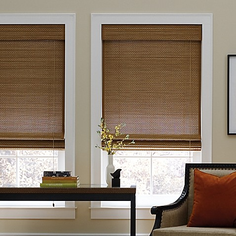blinds inch length beyond bath roman real bed product natural reg store simple shade