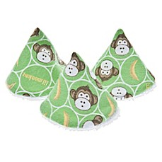 image of beba bean 5-Pack Pee-Pee Teepee™ in Lil Monkey