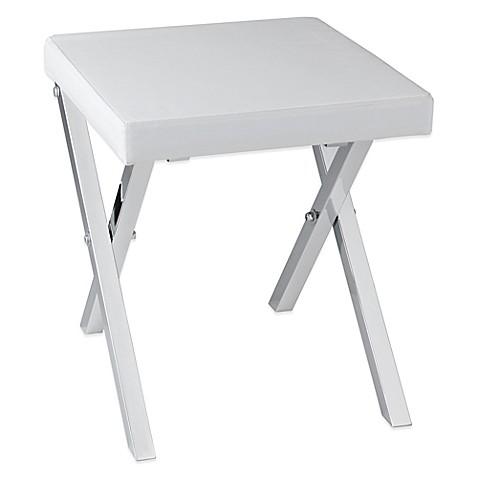 folding vanity stool