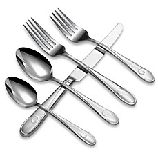 image of Waterford® Ballet Ribbon 5-Piece Flatware Place Setting