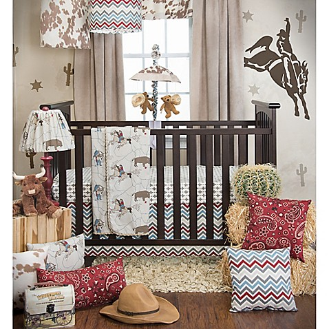 glenna jean happy trails crib bedding collection