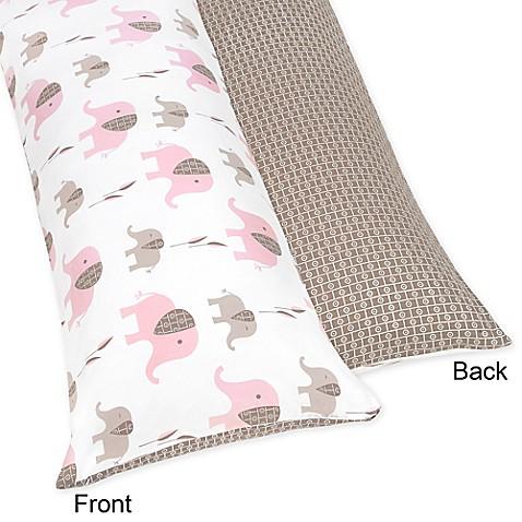 Buy Sweet Jojo Designs Elephant Maternity Body Pillow Case