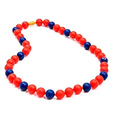 image of chewbeads® MLB Boston Red Sox Gameday Teething Necklace