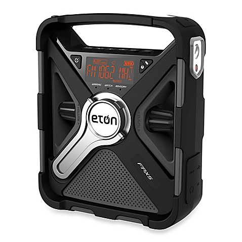 Eton Frx5 Bt Hand Crank Emergency Radio Bed Bath Amp Beyond