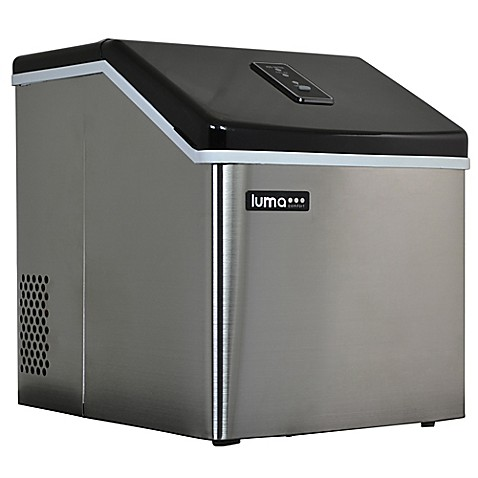 Countertop Dishwasher Bed Bath And Beyond : ... Comfort 28 lb. Stainless Steel Portable Ice Maker - Bed Bath & Beyond