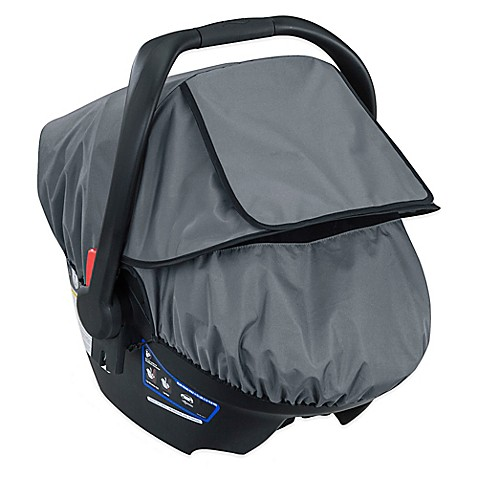 Britax B-Covered All-Weather Car Seat Cover in Grey - buybuy BABY