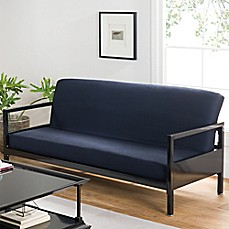 image of Loft NY Cotton Rich Futon Cover in Navy