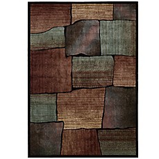 image of Nourison Expressions Squares Area Rug in Multicolor