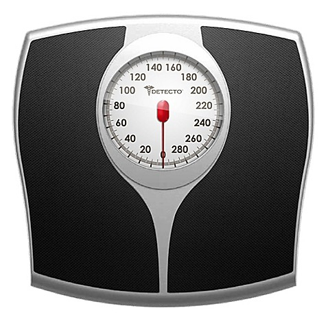 Beau Detectou0026trade; Pro Style Analog Bathroom Scale