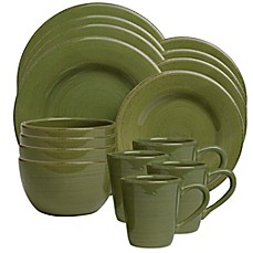 Sonoma 16-Piece Dinnerware Set in Celadon  sc 1 st  Bed Bath \u0026 Beyond & tag sonoma dinnerware   Bed Bath \u0026 Beyond