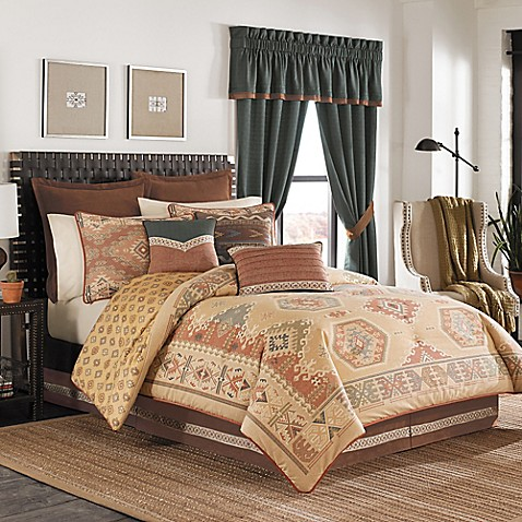 croscill arizona reversible comforter set bed bath beyond. Black Bedroom Furniture Sets. Home Design Ideas