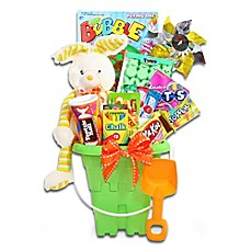 image of Ultimate Easter Sweets and Treats Pail by Alder Creek Gift Baskets
